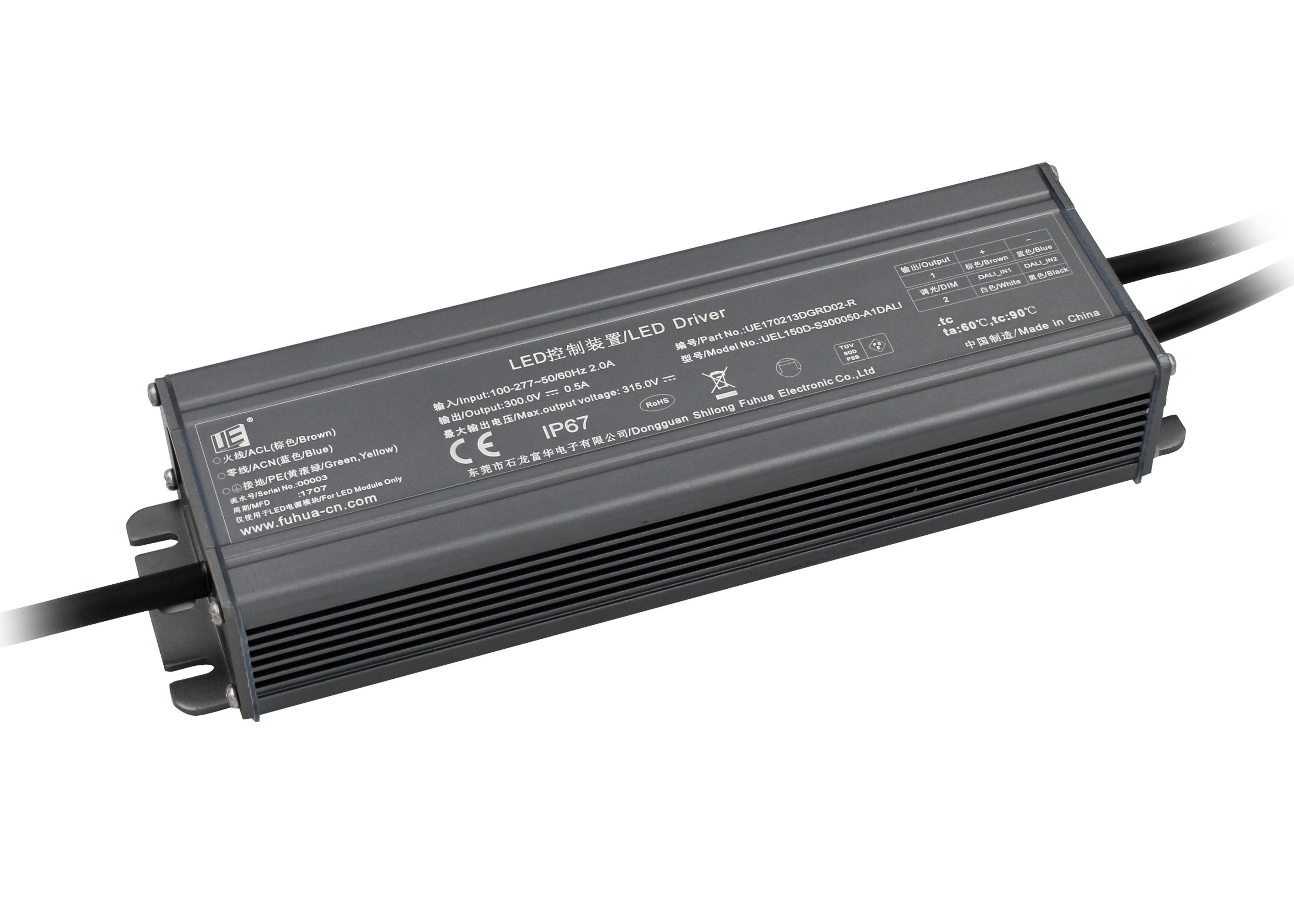 提供宽幅交流电压,输入85-305vac;        有源功率因数校正
